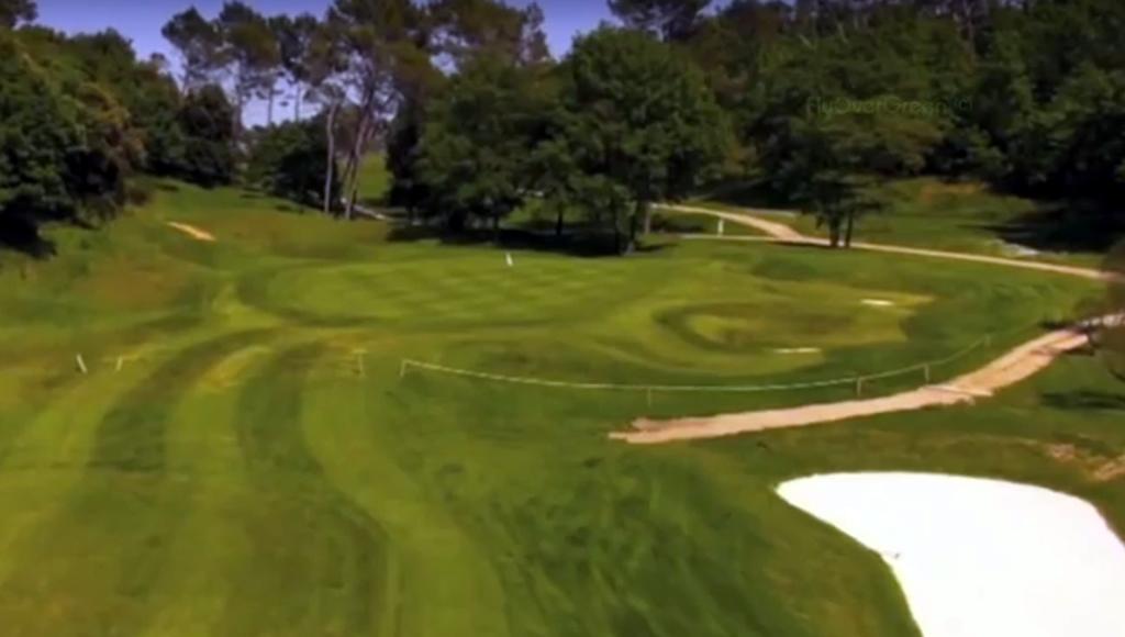 Barbaroux golf course flyover