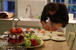 Lou Marronie Manu dinner for Anne Helene Vidar